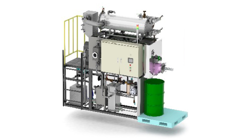 減圧乾燥装置/ MVR蒸発濃縮装置